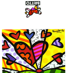postais romero britto A NEW DAY