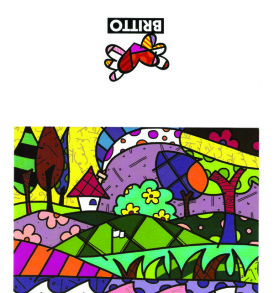 postais romero britto A PERFECT DAY