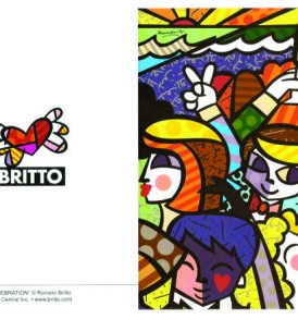postais romero britto CELEBRATION