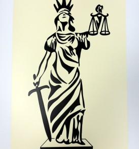 Deusa da Justiça Bege